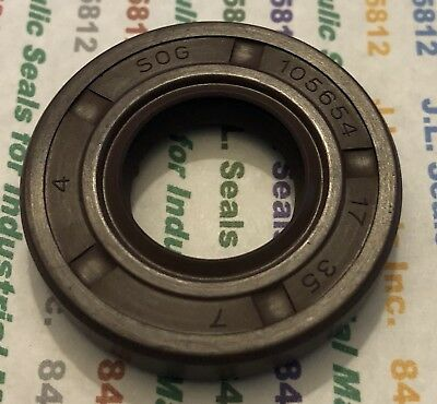 17X35X7Vtc Tc 17 35 7 Viton Double Lip Metric Oil Seal 17X35X7 High Temp 105654