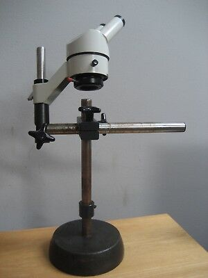 Wild Heerbrugg M1 Stereo Microscope 20X Switzerland For Parts Or Repair