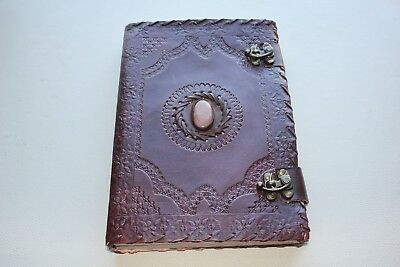 Handmade Leather Retro Hand Writing Book Notebook Journals Diaries - Indy Kraf8