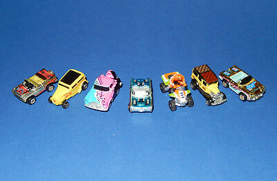 MICRO MACHINES - CARS LOT #5 - Special Cars - Galoob