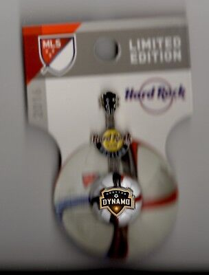 HARD ROCK CAFE Houston Dynamo 3D MLS SOCCER GUITAR SERIES PIN New LE