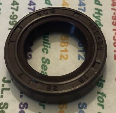 18X28X7Vtc Tc 18 28 7 Viton Double Lip Metric Oil Seal 18X28X7 High Temp 100454