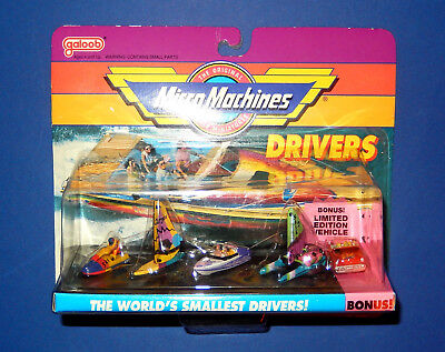 Micro Machines - Drivers #2 Boating Collection - New Ovp