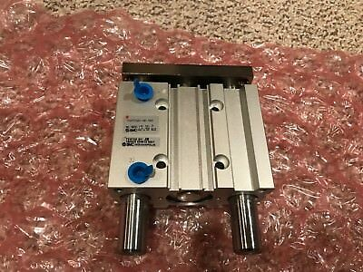 Never Used SMC MGPM32N-40-XB6 Compact Guide Air Cylinder Unit! NO BOX