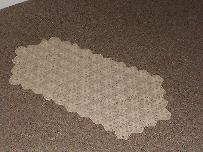 Lovely Vintage antique crochet table runner