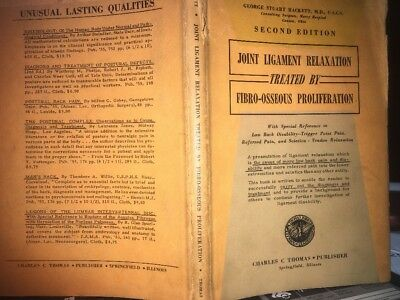 Joint Ligament Relax Treat By Fibro-Osseous Proliferation By G. Hackett 1957 2nd