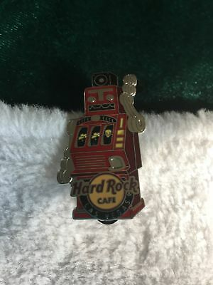 Hard Rock Cafe Pin 2013 Las Vegas ~ Red Robot Slot Machine ~ Retro Style Robot