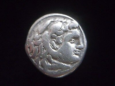 Greek Silver Drachm of Alexander III The Great, 336-323 BC,  CC9959