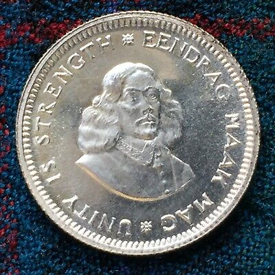 South Africa 5 Cents 1962 - Proof, 3,844