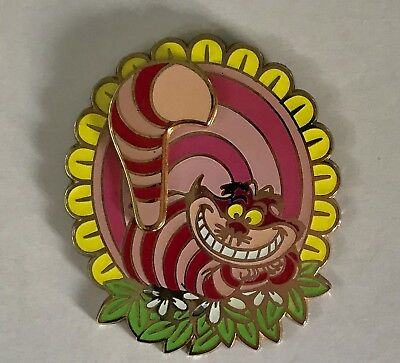 Disney Trading Pin - Cheshire Cat Tail Spinner from Alice in Wonderland