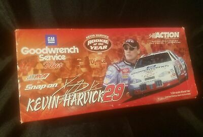 2001 Kevin Harvick #29 Rookie Of The Year Gm Goodwrench 1:24 Diecast Car