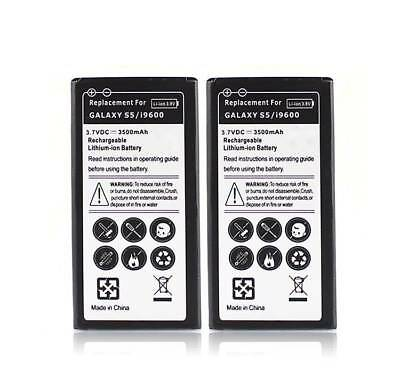 3500mAh 3.7v Rechargeable Li-ion Battery For Samsung Galaxy S5 i9600 Replacement