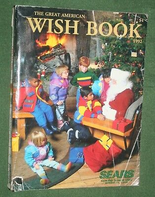 Great American Wish Book Sears Christmas Catalog 1992 Batman GI Joe Barbie dolls