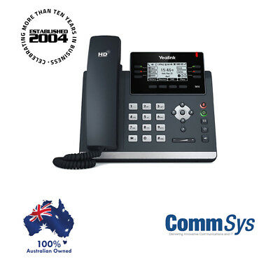 "Yealink SIP-T41S 6 Line IP phone, 2.7""192x64 pixel graphical LCD with backlight"
