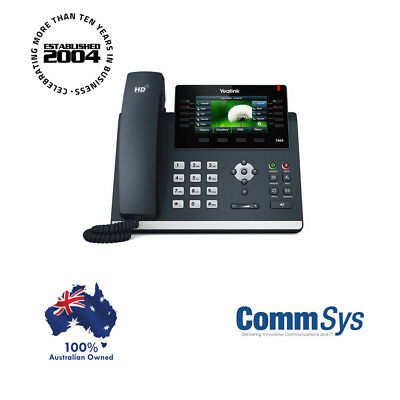"""Yealink SIP-T46S 16 Line IP phone, 4.3"""" 480x272 pixel colour display with backli"""