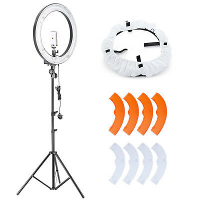 """Neewer 18"""" Dimmable 75W Fluorescent Ring Light Lighting Kit for Photography"""