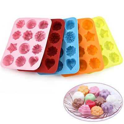 1pc Silicone Cake Decorating Moulds Candy Cookie Chocolate Baking Mold non stick