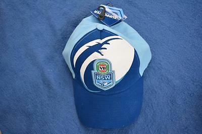 Collectable NSWRL VB Victoria Bitter NSW BLUES State of Origin CAP NEW with TAGS