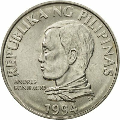 [#580967] Coin, Philippines, 2 Piso, 1994, EF(40-45), Stainless Steel, KM:258