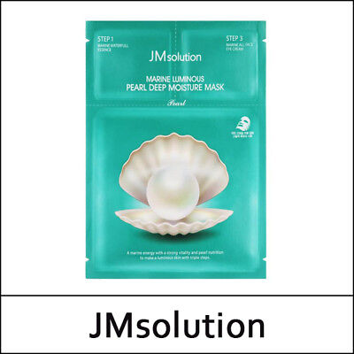 [JMsolution] JM solution Marine Luminous Pearl Deep Moisture Mask / No Box / S셋오