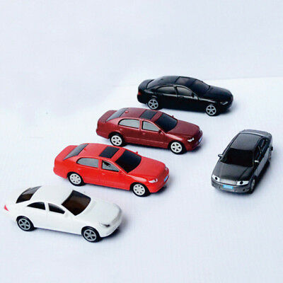 5PCS Model Classic Cars 1:50 HO Scale For Building Railway Train Scenery NEW HOT