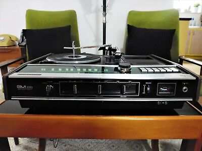 Vintage 73 National SG-1050 Stereo Music Centre- Radio, Cassette & Record Player
