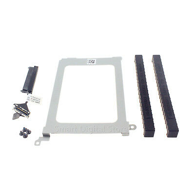 NEW for Dell XPS 15 9550 9560 Precision 5510 XDYGX HDD Cable +Caddy +Rubber Rail