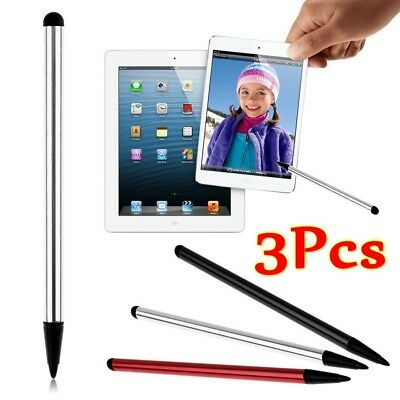 Universal 2 in1 Touch Screen Pen Stylus For iPhone iPad Samsung Tablet Phone PC