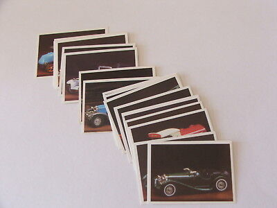Weet Bix Collector Cars 1986 set of 20 cards