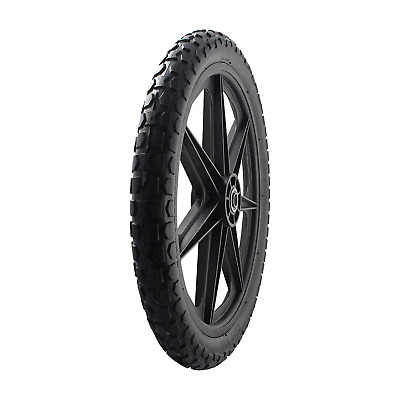 """20"""" Replacement Tire Assembly Flat Free Heavy Duty for Rubbermaid Big Wheel Cart"""