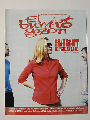 "Saint Etienne - Nick Cave - Dead Can Dance ""el Burrito Gozon"" Spanish Magazine"