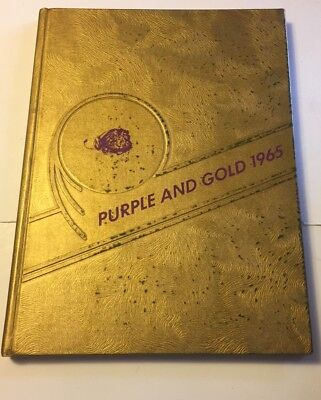 1965 St Johnsville  NY Saints School Yearbook