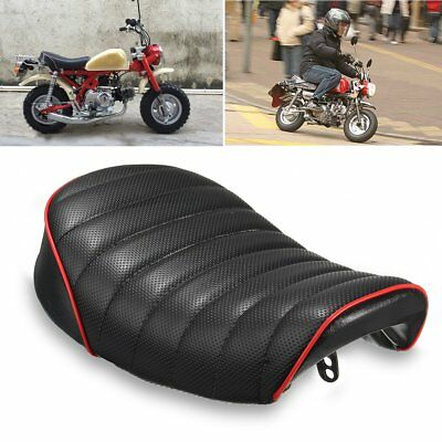 Universal Motorcycle Hump Cafe Cover Soft Racer Seat Saddle For MONKEY Honda AU
