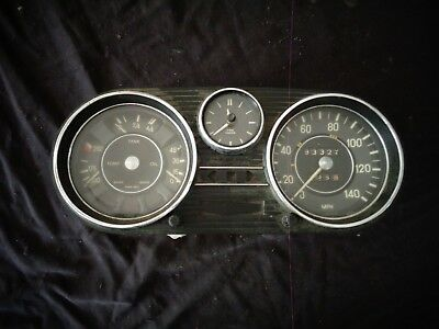 1968-1973 Mercedes-Benz W108 W114 W115 Speedometer Gauges Instrument Cluster M/T