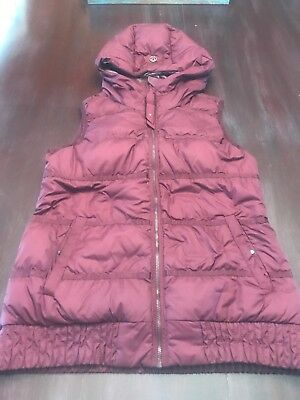 Lululemon Chilly Chill Down Vest Size 6