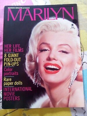 Marilyn Monroe Screen Greats Magazine No Posters