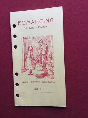 Romancing Kit Z Cooperative Recreation Service Ages' 9-12 Valentine's Day