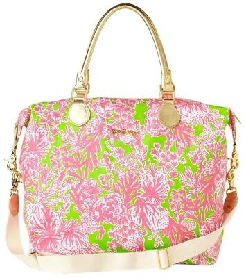 Lilly PULITZER Overnight/weekender Bag In Hotty Pink