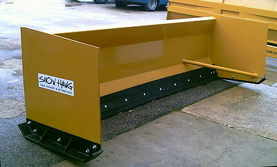 12' Snow Hawg Snow Pusher for Backhoe Combo Machine