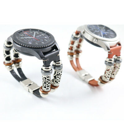 Fashion Replacement Leather Wristband Band Strap Bracelet For Samsung Gear S3 G2