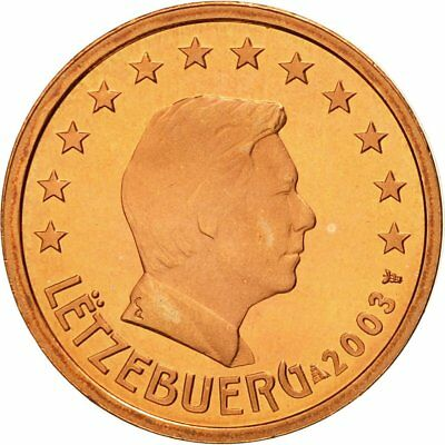 [#580326] Luxembourg, 2 Euro Cent, 2003, MS(65-70), Copper Plated Steel, KM:76