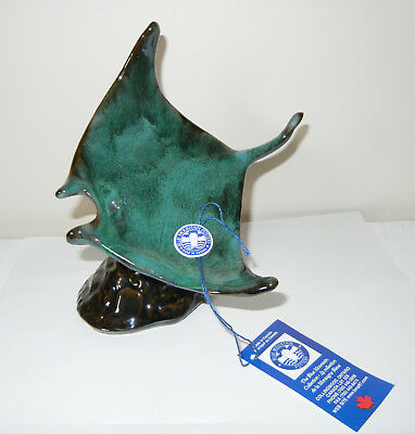 Blue Mountain Pottery Blue Water Collection - Green Stingray