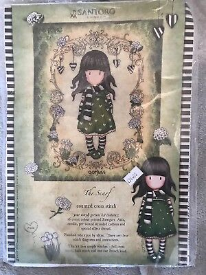 Bothy Threads Santoro Gorjuss The Scarf Counted Cross Stitch Kit New Xg35 02/17