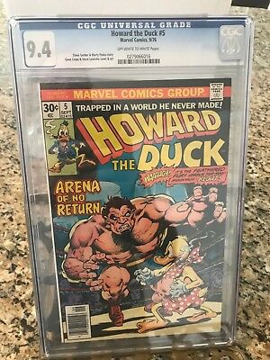 Howard the Duck #5 CGC 9.4 OW/W