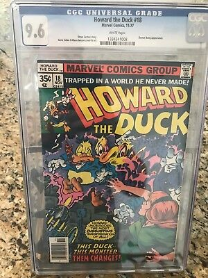 Howard the Duck #18 CGC 9.6 White pages