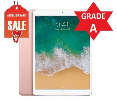 Apple iPad Pro 2nd Gen. 64GB, Wi-Fi, 10.5in - Rose Gold - GRADE A CONDITION (R)