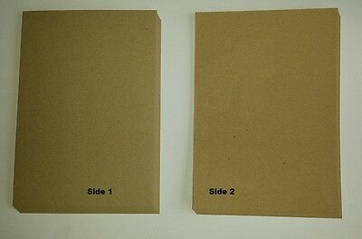 A4 Natural 100% Recycled Brown Kraft Craft Paper 100gsm Crafting Printing Invite