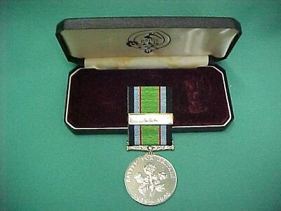 Vintage Battle For Of Britain Commemorative Medal with U.S.A. Bar and Orig Box