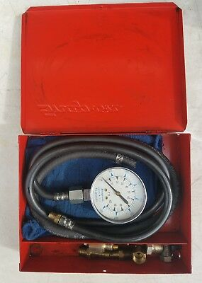 FREE SHIPPING! Snap On Tools Kilopascal Compression Tester Set with Metal Case