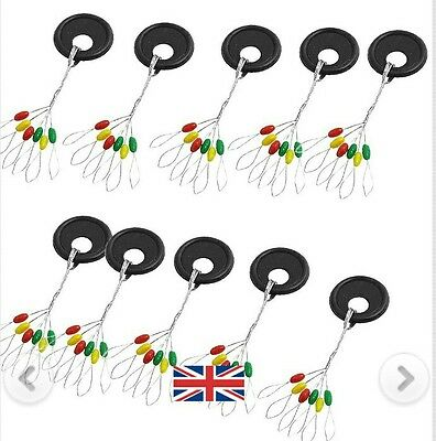 60(3 Colours)Soft Rubber  Float Stops  Tackle ,match,waggler,fishing Rigs